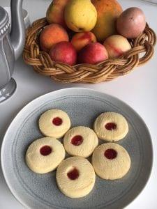 Bush Cookies - Jam Drop Shortbreads