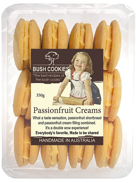 Passionfruit Creams from Bush Cookies