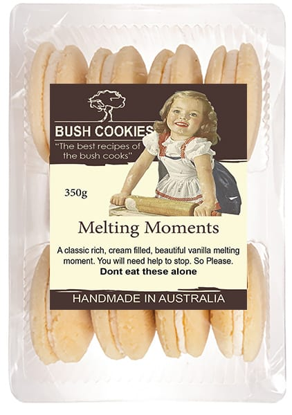 Vanilla Melting Moments by Bush Coookies