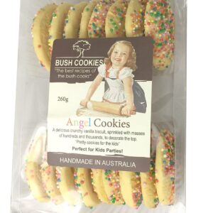 Angel Cookies 260g Kids Party Food by Bush Cookies