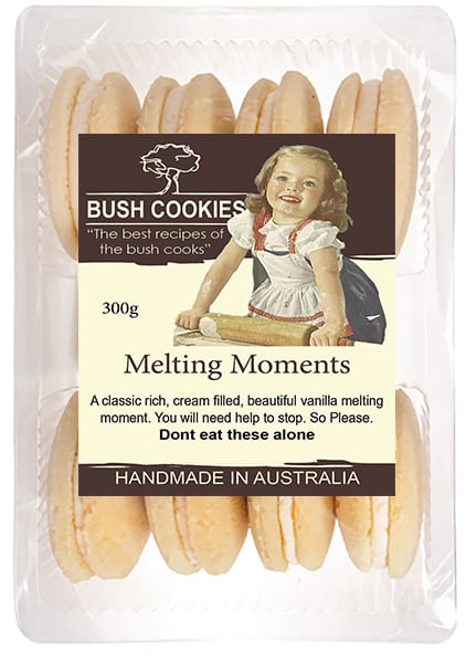 Vanilla Melting Moments 300g