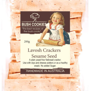 Sesame Seed Lavosh Crackers - 200g by Finom